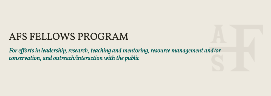 AFS Fellows Program is now accepting nominations slide